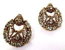 Golden Oxidized Earring Bali Jewelry Bollywood Ethnic Imitation Drop Dangle A144