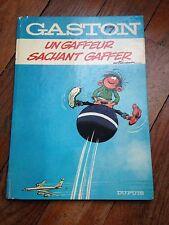 un gaffeur sachant gaffer (1973) gaston lagaffe 7 par franquin dupuis dos rond