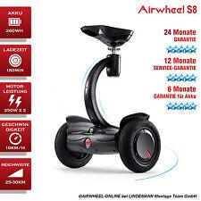 AIRWHEEL S8 Elektroroller mit Sitz E-Scooter Self Balancing Scooter schwarz