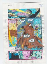THE NEW TITANS #84 PAGE 24 ORIGINAL COMIC PRODUCTION ART NIGHTWING SIGNED w/COA