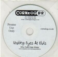 (BY720) Making Eyes at Elvis, Why Cats Hate Water - DJ CD
