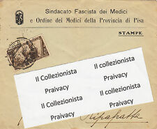 Busta da Lettera Sindacato Fascista dei Medici e Ordine dei Medici Pisa
