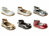 GIRLS BRIDESMAID WEDDING PARTY SANDALS SHOES INFANTS UK SIZE 3-9