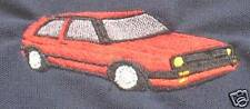 VW Mk2 Golf embroidered on Polo Shirt