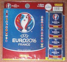 Panini UEFA Euro 2016 France* Softcover Starter-Pack ** Album + 4 Tüten **
