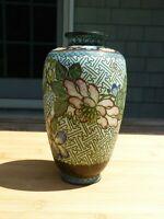 Antique 19th C. Chinese Cloisonne Vase