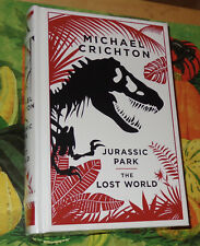 JURASSIC PARK THE LOST WORLD   LeatherBound Hardcover ~ New & Sealed