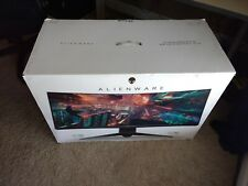 """Dell Alienware AW3418DW 34"""" 21:9 Curved Gaming Monitor G-Sync 3440x1440 120hz NR"""