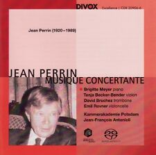 Jean PERRIN / Musique Concertante / (1 CD) / NEUF