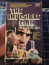 The Invisible Man By Michael Kahn 1st Paperback Print Collectible Tv Tie In