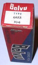 Pentode 6AK6 CV1762 fabrication BELVU NOS NIB boite scellée