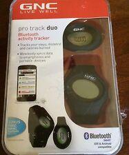 GNC Live Well GB-5562 Black Pro Track Bluetooth Pedometer Activity Tracker NIB
