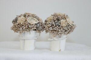 2 x Wedding Posies (Champagne Cream)