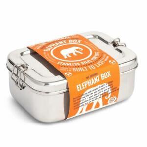 Elephant Box Stainless Steel Lunchbox - 2Ltr - Plastic Free - High Grade Steel