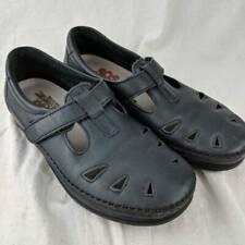 SAS Tripad Comfort Womens Roamer Mary Janes Shoes Blue Low Heel Cut Outs 7.5 CDW