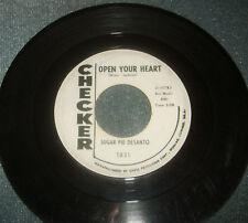 Sugar Pie Desanto Northern Soul 45 rpm Checker PROMO Record Label Vinyl