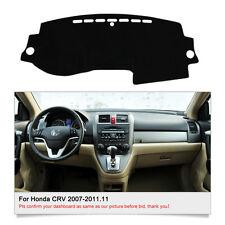 Fit For Honda CRV 2007-2011 DashMat Dashboard Mat Dash Board Sun Cover Pad FLY5D