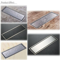 304 Stainless Steel Invisible Bathroom Floor Drain Linear Wetroom Shower Channel