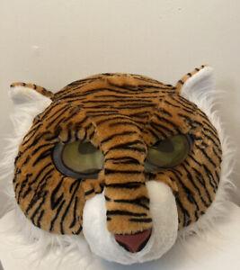🔥Dan Dee Tiger Head Mascot Furry Mask Adult Costume Cosplay Big Greeter