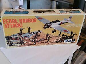 "Vintage MPC ""Pearl Harbor Attack"" Model Kit#2-1208-200 1/72"