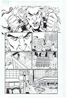 HYDRO-MAN SPIDER-MAN ORIGINAL PUBLISHED ART PAGE M.A. SPIDER-MAN #32 PAGE #11