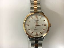 Rotary Mens Regent Two Tone Rose Gold Gb90114/06 Watch - 49 off