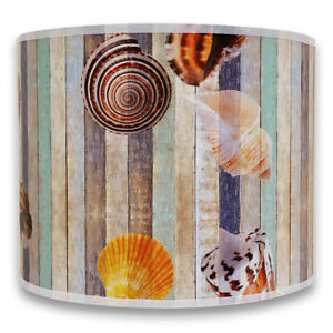 Royal Designs Pink Pastel Seashell Hand Tailored Hardback Lamp Shade