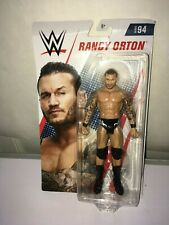 WWE SERIES 94 RANDY ORTON  ACTION FIGURE , BENT CARD READ