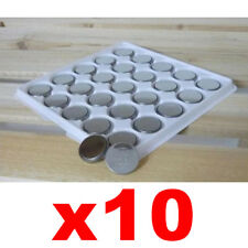 litio al bottone 10 Batterie CR2025 3V orologi PORTACHIAVI AUTO ij