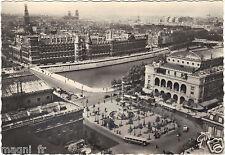 75 - PARIGI - Panorama sul place du Châtelet e la Palais de Justice - 1946