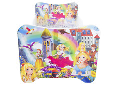 CHILDRENS BED TODDLER KIDS + MATTRESS and BED SHEET *30 DESIGNS* 140x70