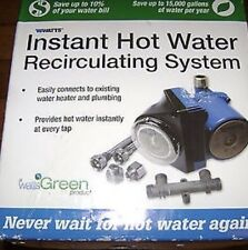 WATTS Hot Water Recirculating Pump Model 500899 New In Box!  Instant Hot Water