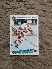 1991-92 Upper Deck Ser 2 Eng Vladimir Konstantinov Young Guns #594 hockey card