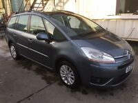 2008 CITROEN C4 GRAND PICASSO VTR+, BEING SOLD AS SPARES OR REPAIRS, 7 SEATS