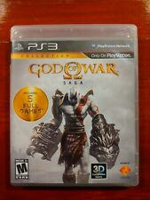 New listing God of War Saga Collection PS3 (Sony Playstation 3, 2012)