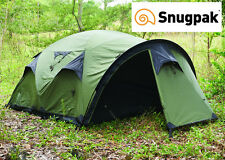 "Snugpak ""THE CAVE"" High Quality, Spacious and Functional 4 Person Base Camp Tent"