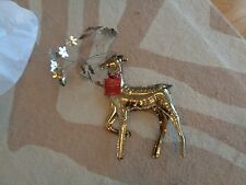 Pottery Barn Pressed Tin Large Reindeer  Christmas Holiday  New Issue