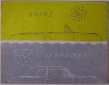 Ford Consul & Zephyr Six Mk 1 Convertibles 1955-56 Original UK Sales Brochure