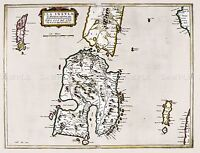 MAP ANTIQUE 1654 SCOTLAND BLAEU ISLAY HISTORIC LARGE REPRO POSTER PRINT PAM0127