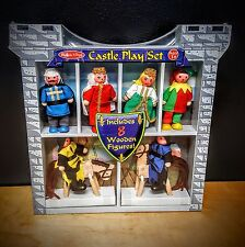Melissa & Doug Castle    Wood Dolls Playset