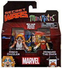 Minimates Series 64 Disco Dazzler & Howard the Duck 2-Inch Minifigure 2-Pack