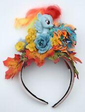 Little Pony Autumn  Flower Pom Pom Crown Headdress Kawaii Pastel Goth Halloween