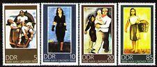 DDR 1988 Sc2713-6 Mi3209-12 4v mnh Paintings by Max Lingner