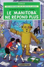 POSTCARD / Hergé / Jo, Zette et Jocko / Le Manitoba ne répond plus