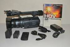 "Sony HDR-FX1 HDV 1080i MiniDV Professional Camcorder 12 X Optical Zoom 3.5"" LCD"