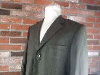 Mens Mantoni 44R Charcoal gray super 140's wool sport coat blazer jacket