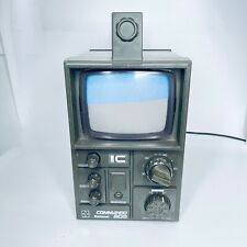 Vintage Commando National 505 Transistor TV  Model TR-505GB National Panasonic