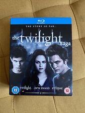 The Twilight Saga The Story So Far Blu Ray 3 Disc Collection