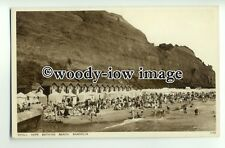 h1162 - Shanklin , Tents on Small Hope Beach , Isle of Wight - postcard by Nigh