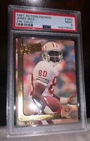 1991 ACTION PACKED JERRY RICE 24K GOLD #36G PSA 9 Mint SAN FRANCISCO 49ers HOF